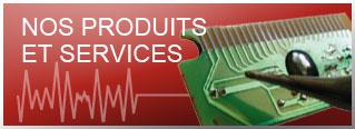 Produits et services électronque